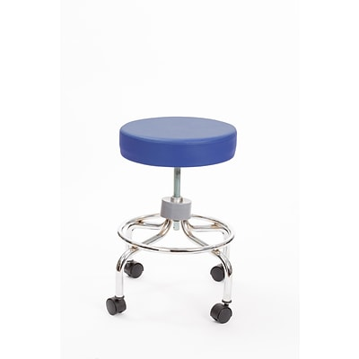Brandt 22211 Revolving Stool with Footrest, Space Blue