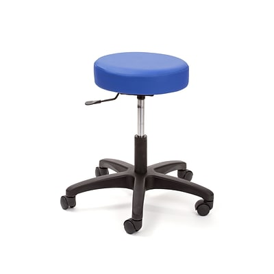 Brandt Econobuoy 13421 14 Pneumatic Stool without Backrest, Space Blue