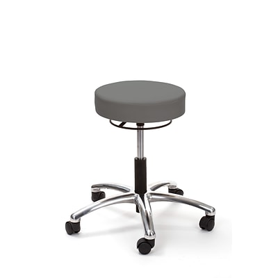 Brandt Airbuoy 17421RR 14 Pneumatic Stool with Ring Release, Charcoal