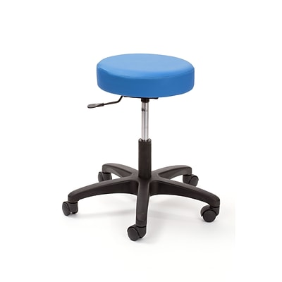 Brandt Econobuoy 13421 14 Pneumatic Stool without Backrest, Ocean
