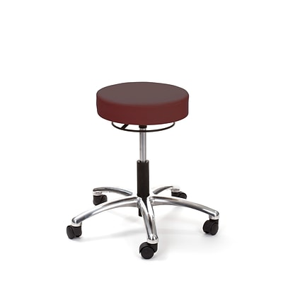 Brandt Airbuoy 17421RR 14 Pneumatic Stool with Ring Release, Raspberry