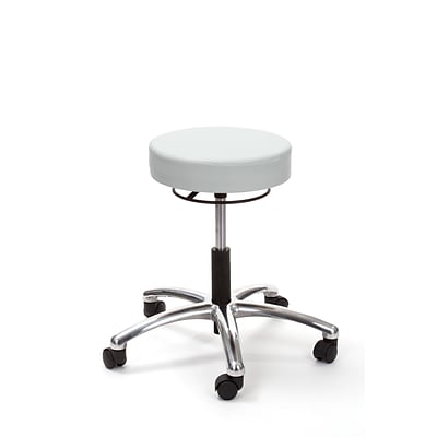 Brandt Airbuoy 17421RR 14 Pneumatic Stool with Ring Release, Dove Gray