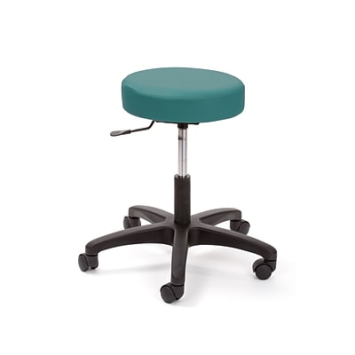 Brandt Econobuoy 13421 14 Pneumatic Stool without Backrest, Teal