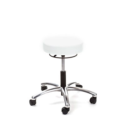 Brandt Airbuoy 17421RR 14 Pneumatic Stool with Ring Release, Ivory