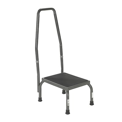 Brandt 16003 Standard Step Stool with 33.5 Handrail; Steel