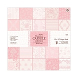 12x12 Wild Rose Papermania Paper Pack