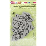 Timeless Rose Cling Rubber Stamp