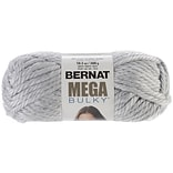 Spinrite® Mega Bulky Yarn, Light Grey Heather