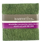 Dimensions Feltworks Felt Square Bundle, 6 x 6, Red/Green/White