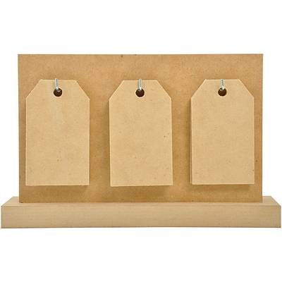 Kaisercraft Beyond The Page MDF Tag Calendarr With 14 Tags, 5 1/2 x 8 3/4