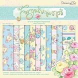 12x12 Forget Me Not Paper Pack