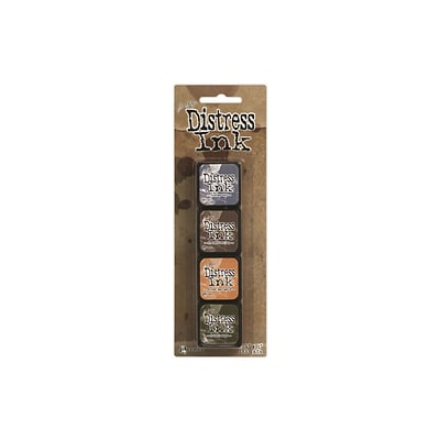 Ranger Tim Holtz® 1 x 1 Distress Mini Ink Kits, Kit 9