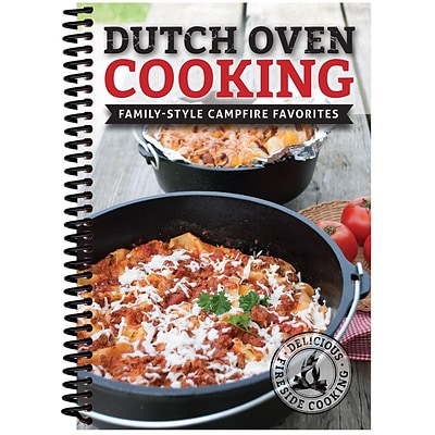 CQ Products Dutch Oven Cooking: Family Style Campfire Favorites Cookbook