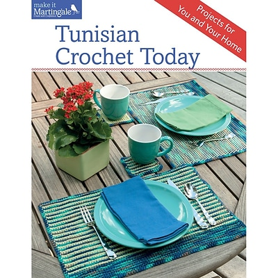 Martingale® Tunisian Crochet Today - Projects For You and Your Home Book