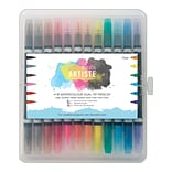 docrafts® Artiste Watercolor Dual Tip Pens