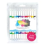docrafts® Bright Dual Tip Brush Markers