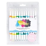 docrafts® Pastel Dual Tip Brush Markers