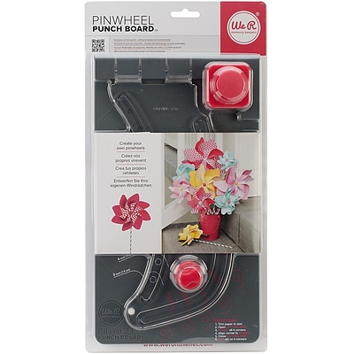 We R Memory Keepers™ Pinwheel Punch Board, 11 1/2 x 6 1/2 x 2