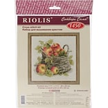RIOLIS® 10 Count Counted Cross Stitch Kit, 11 3/4 x 11 3/4, Ripe Apples