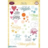 6x8 Bokeh Time Clear Stamp Set