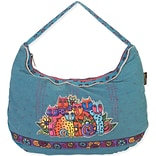 20x3x12 Feline Clan Hobo Bag