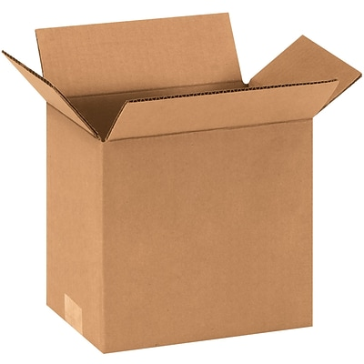 9x6x9 Shipping Box, 200#/ECT, 25/Bundle (969)