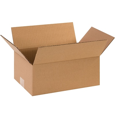 10x6x3 Standard Corrugated Shipping Box, 200#/ECT, 25/Bundle (1063)