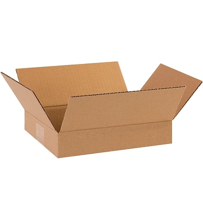 11.25 x 8.75 x 2.75 Standard Corrugated Shipping Box, 200#/ECT, 25/Bundle (1182)