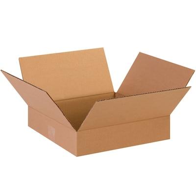 13(l) X 13(w) X 3(h)'' Shipping Boxes, 32 Ect, Brown, 25 /bundle(13133)