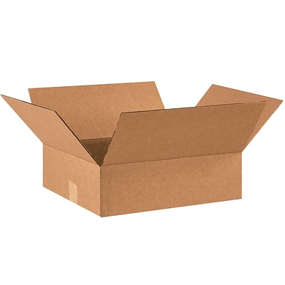 14x12x3 Shipping Box, 200#/ECT, 25/Bundle (14123R)