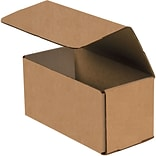 Partners Brand Corrugated Mailers, 12 x 6 x 6, Kraft, 50/Bundle (M1266K)