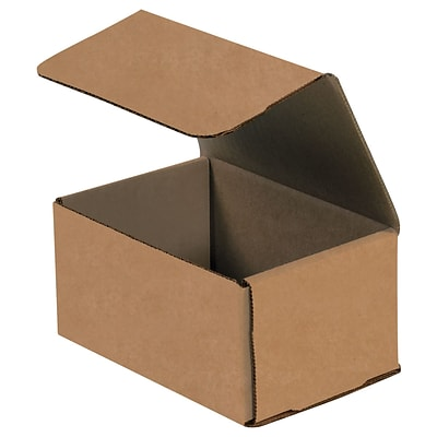 6 x 5 x 3 Corrugated Mailers, 50/Bundle (M653K)