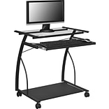 Altra Furniture 9378196 29 Metal Computer Desk, Black