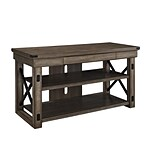 Altra Furniture 1735096 47.5 Engineered Wood TV Console, Rustic Gray