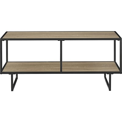 Altra Furniture 1745096PCOM 40 Wood TV Stand/Coffee Table, Gunmetal Gray