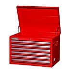 International Tech Series 26W 6-Drawer Top Chest; Red