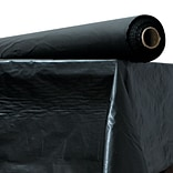 ATLANTIS PLASTICS Table Cover, Black