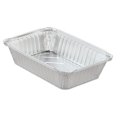 HANDI-FOIL OF AMERICA Aluminum Oblong Pan with Lid 36 Oz.