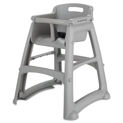 RUBBERMAID Sturdy Chair Youth Seat, without Wheels