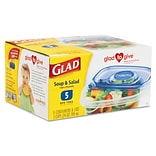 Glad® Food Storage Containers, Soup and Sal...