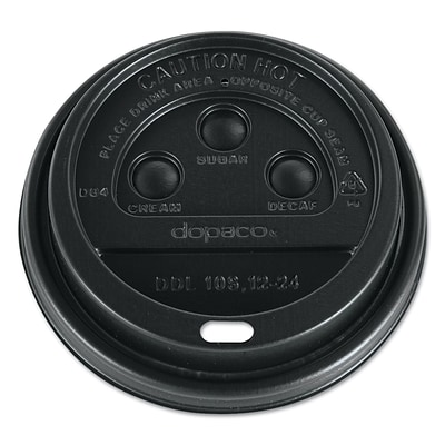 PACTIV- DOPACO ITEMS Dopaco Dome Lids for Hot Paper Cups
