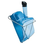 RUBBERMAID Hand-Guard Scoop with Holder