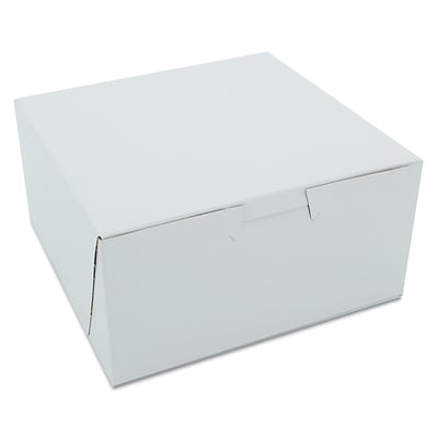 SOUTHERN CHAMPION Non-Window Bakery Boxes, 3 x 6