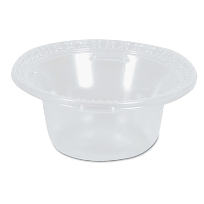 Dixie® Plastic Dessert Dishes by GP PRO, 5 oz., Clear, 1000/Carton (DD05C)