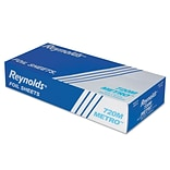 Reynolds 720M Metro Pop-Up Aluminum Foil Sheets, 12 X 10.75, 12 BX/200 Sheets, 2,400 Sheets/CS