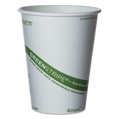 ECO PRODUCTS World Art Hot Drink Cups, 12 Oz.