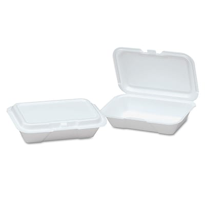 GENPAK Hinged Shallow Container