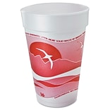 DART CONTAINER CORP Foam Cups for Hot & Cold Beverages 16 Oz.