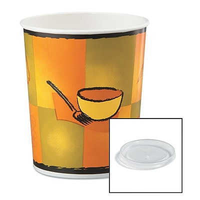 HUHTAMAKI FOODSERVICE Food Container with Lid 32 Oz.