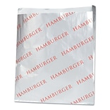 BAGCRAFT Hamburger Printed Foil Paper Bag